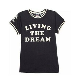 Junk Food Disney Mickey Mouse Living The Dream Tee
